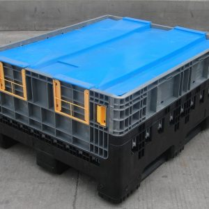 bulk plastic storage containers-foldable 1210-590