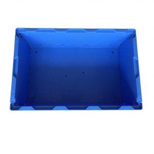 collapsible storage crates plastic-S504