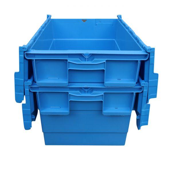 stackable storage bins with lids