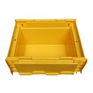 storage bins with lids